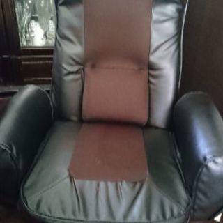 急募、肘付きリクライニング座椅子