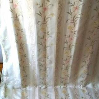 遮光カーテン ニトリ 花柄
