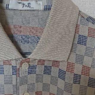 紳士服 半袖ポロシャツ Lサイズ