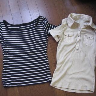 女性用 Mサイズ Tシャツ ポロシャツ 半袖 レディース 夏用トップス