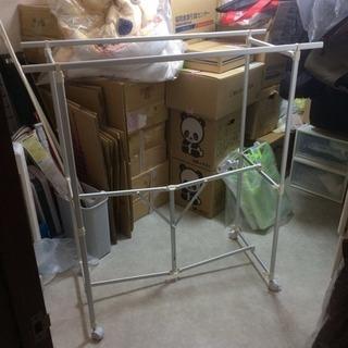 洗濯物干し 室内■幅94■ハンガーラック■折りたたみ式■コンパクト収納■