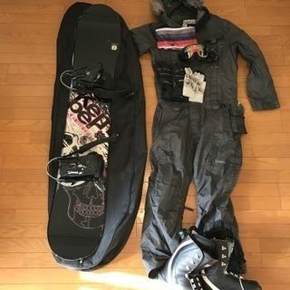 スノーボード、ウェア 一式 メンズ用