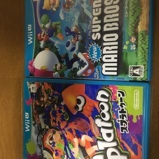 スプラトゥーン マリオUセット 任天堂WiiU