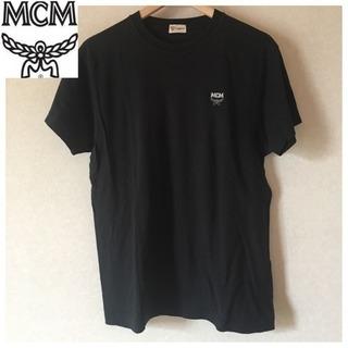 【全国送料無料】MCM Tシャツ メンズ エムシーエム 黒 ロゴ...