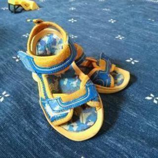 男の子用 サンダル キッズ、子供靴
