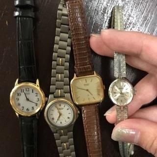 ジャンク♡腕時計♡4本