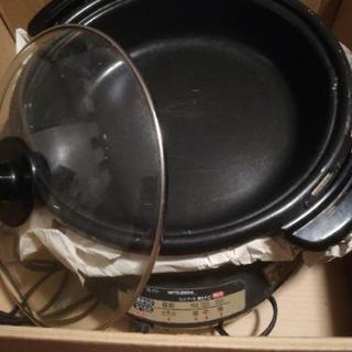 交渉中:ホットプレート鍋いかがですか?