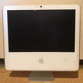 ジャンク Apple iMac A1208 2006 HD無し