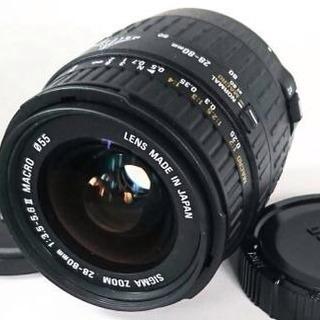 ☆極美品☆ SIGMA ZOOM 28-80mm F3.5-5....