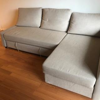 IKEA ソファベッド フリーヘーテン