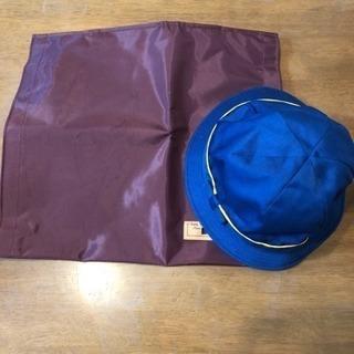 桐ヶ丘郷小学校 通学帽🧢防災頭巾袋✨