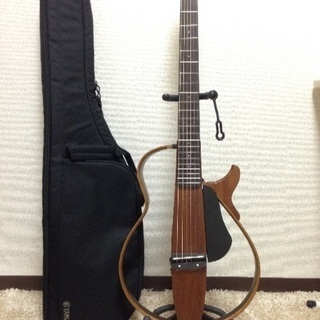 【美品】 YAMAHA サイレントギター SLG200S NT