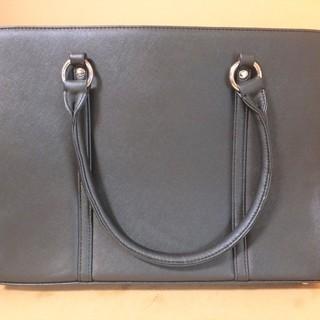 お仕事に最適な黒のビジネスバッグ 落ち着いたブラック◆シックなデザイン