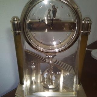 SEIKOのゴールド置時計