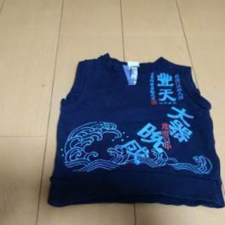 eb122144fc277 80センチ 男の子紺色ベスト 豊天商店 (ひまわり) 足利の子供用品の中古 ...