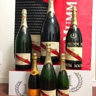 値下げ!シャンパンのダミーボトル・箱・旗