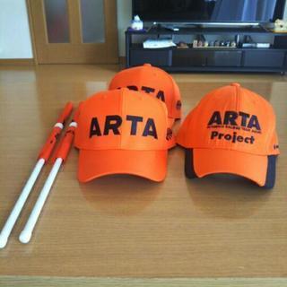 スーパーGT ARTA 2018キャップ2つと応援フラッグ
