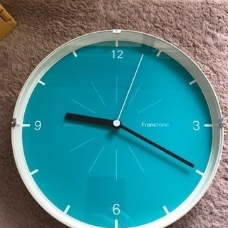 Franc franc 壁掛け時計