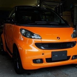 スマートフォーツークーペ エディションナイトオレンジクーペmhd 限定車