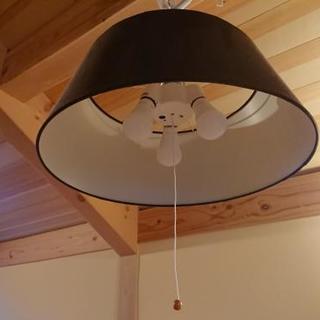 [値下げ]ペンダントライト【ニトリ】 LED3個【IKEA】付です