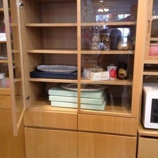 美品 無印良品 カップボード 食器棚 良品計画 − 愛知県
