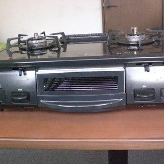 ガスコンロ2014製 リンナイKGE61BL(NO.140)の画像