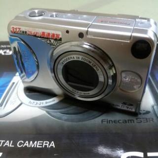 京セラ デジタルカメラ FinecamS3R