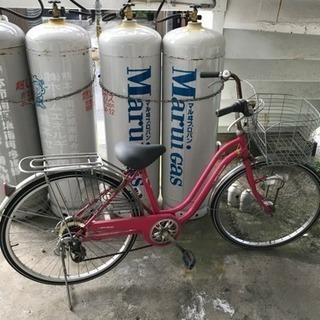 ピンクの自転車お譲りします❣️