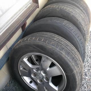 (取引中)VOXY用タイヤとホイール