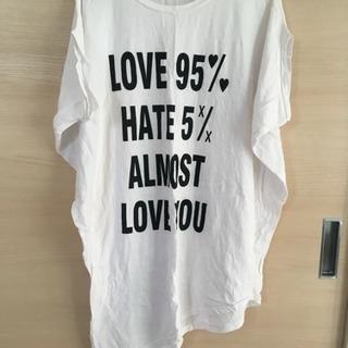 ゆったりTシャツ  Lサイズ