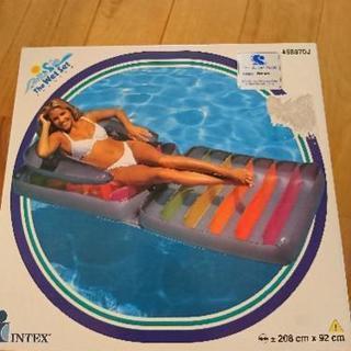 浮き輪。新品。FD  ラウンジチェア