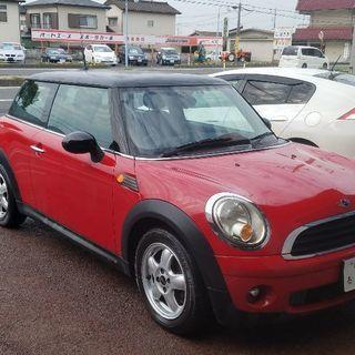 20万円BMWミニ❗赤色AT車❗ナビ付き❗