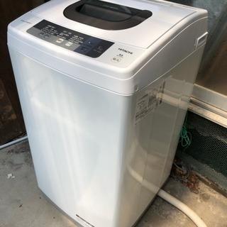 日立【HITACHI】全自動洗濯機洗濯 5kg NW-5WR 【...