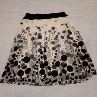 水玉柄スカート Lサイズ