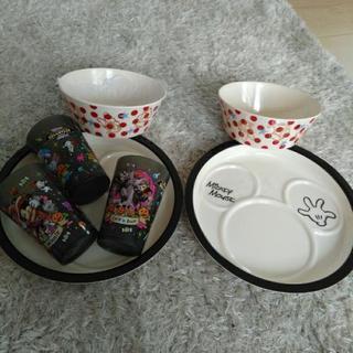 ディズニー メラミン食器