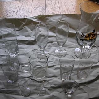 ハードロックカフェ、超うすグラス多数 グラスセットまとめて