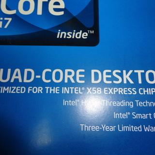 CPUクーラー(Core i7-920に同梱の品) 売却済〆切