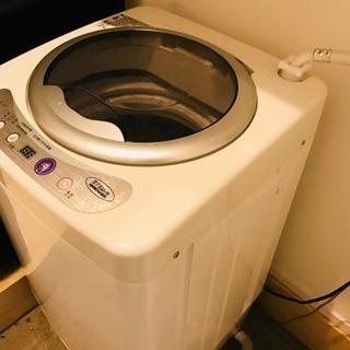 1人暮らし用の小型洗濯機 3kg
