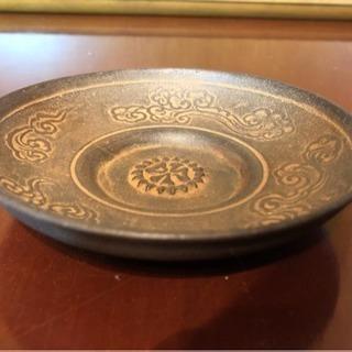 【吹田】鉄製の記念飾り皿
