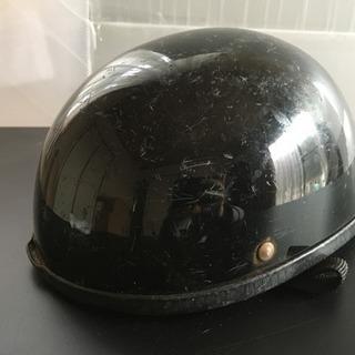 バイク ヘルメット ブラック ダックテール