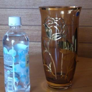 花器 花瓶 チェコ製 ボヘミア