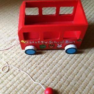 木の引っ張るおもちゃセット☆