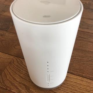 【値下げ】AU  Speed Wi-Fi HOME L01 未使用