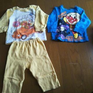 アンパンマンのパジャマとトレーナー 90 冬物