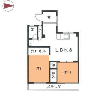 7月限定 2LDK 初期費用5万円のみ🚉東山線岩塚駅🚉Iwatsu...