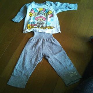 チョッパーのパジャマ 90 冬もの
