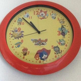 妖怪ウォッチの壁掛け時計