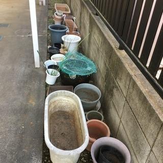 植木鉢 小さい物から内径約27cmまで - 松戸市