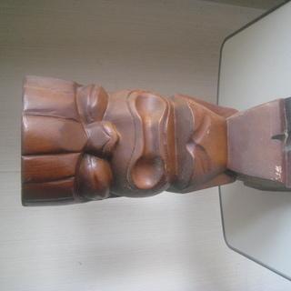 無料 木彫りの人形(グアム)