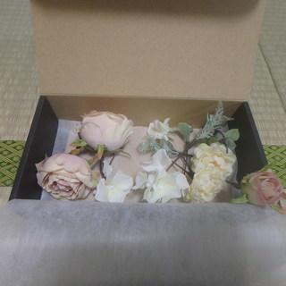ヘッドドレス 花(バラ)